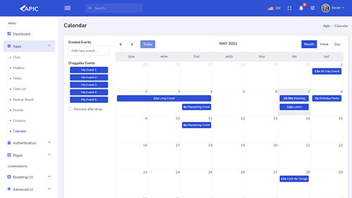 Image Preview of Calendar Product