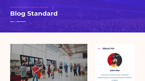 Image Preview of blog standard Product