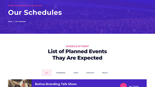 Image Preview of Schedules V2 Product