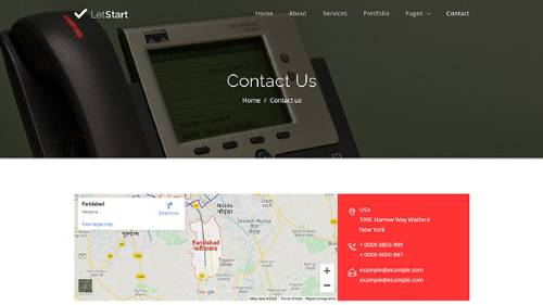 Image Preview of Contact US V2 Product