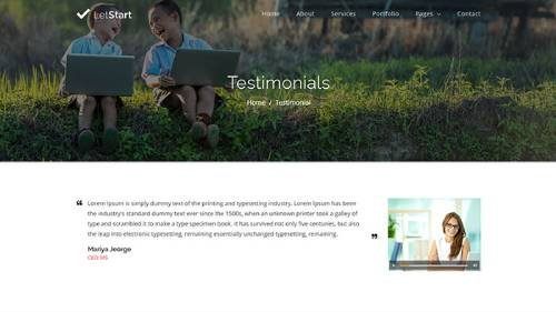 Image Preview of Testimonial V3 Product