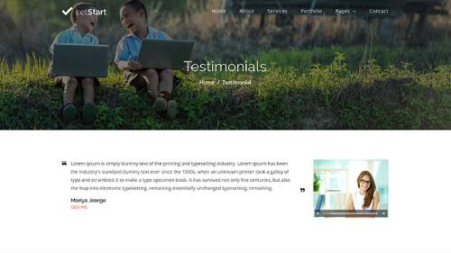 Image Preview of Testimonial Product