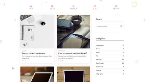 Image Preview of Blogs Right Sidebar Product