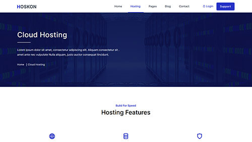 Image Preview of Cloud Hosting Product