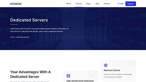 Image Preview of Dedicated Server Product