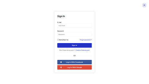 Image Preview of Login Product