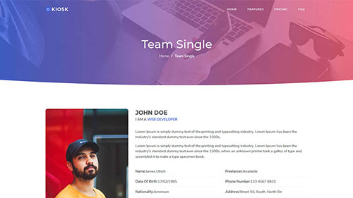 Image Preview of Team Single Product