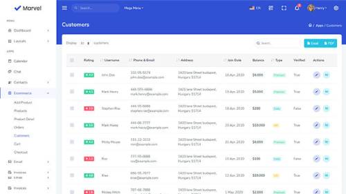 Image Preview of Customer List Product