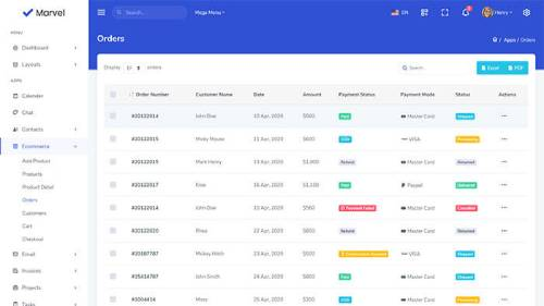 Image Preview of Order List Product