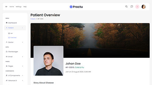 Image Preview of Patient Overview Product