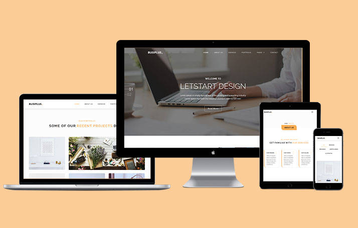 Buy Busiplus Multipages Theme Template at 12
