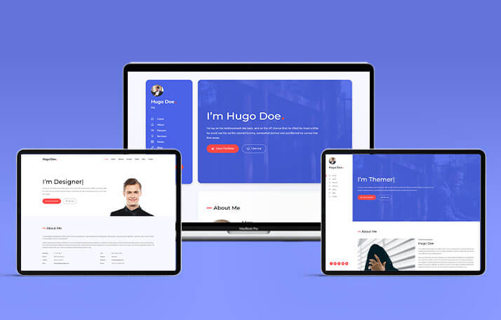 Buy Hugo CV Template Template at 8